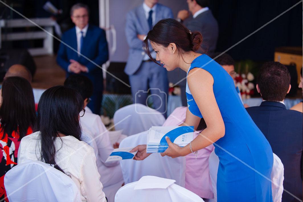 Accueil des invités